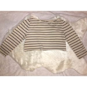 Merona Crop Top Size Medium